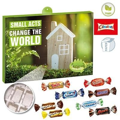 Picture of PREMIUM GIFT ADVENT CALENDAR ECO BUSINESS with Celebrations®