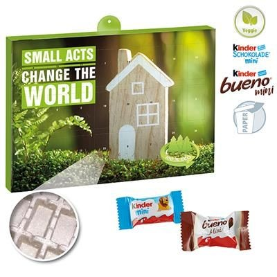 Picture of PREMIUM GIFT ADVENT CALENDAR ECO BUSINESS with Kinder Minis