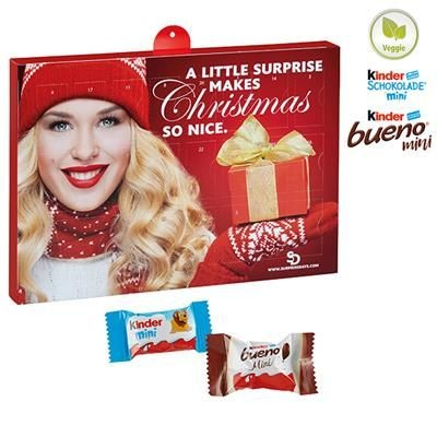 Picture of PREMIUM GIFT ADVENT CALENDAR BUSINESS with Kinder Minis