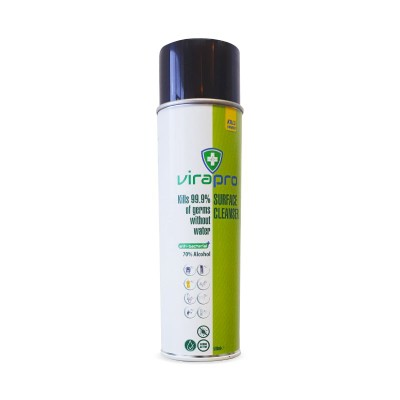 Picture of VIRAPRO 70% ALCOHOL SURFACE DISINFECTANT SPRAY CAN