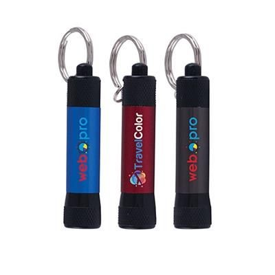 Picture of MCQUEEN BLACK MATTE TORCH KEYRING