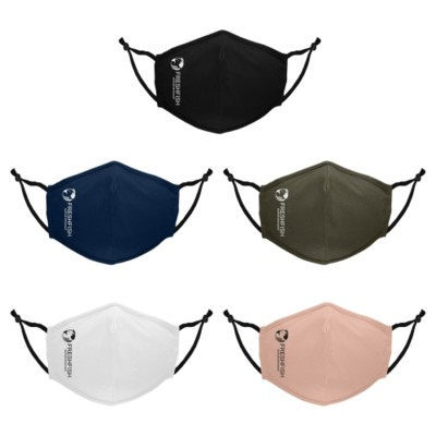 Picture of 1 COLOUR URBAN PREMIUM ANTIMICROBIAL MASK