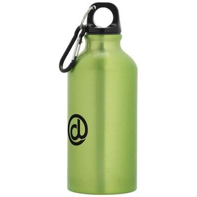 Picture of OREGON 400 ML SPORTS BOTTLE with Carabiner in Apple Green