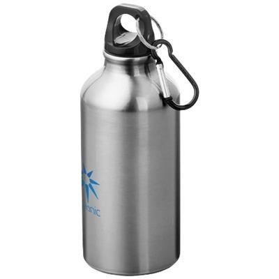 Picture of OREGON 400 ML SPORTS BOTTLE with Carabiner in Silver