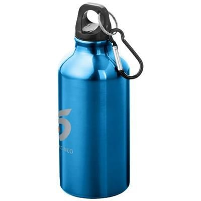 Picture of OREGON 400 ML SPORTS BOTTLE with Carabiner in Blue