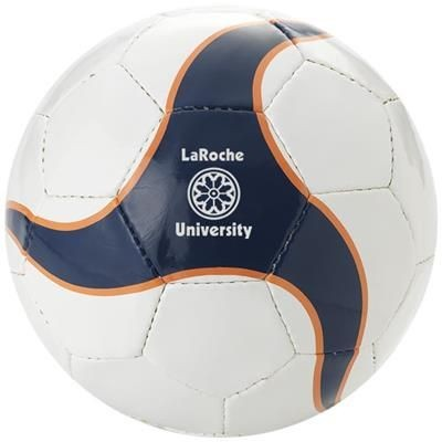 Picture of LAPORTERIA 32 PANEL FOOTBALL in White Solid-navy