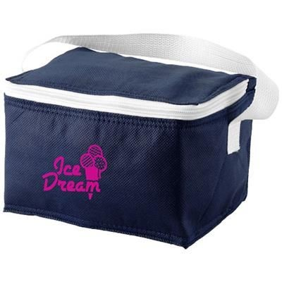 Picture of SPECTRUM 6-CAN NON-WOVEN COOL BAG in Navy