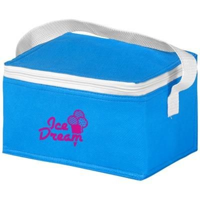 Picture of SPECTRUM 6-CAN NON-WOVEN COOL BAG in Aqua