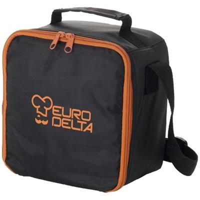 Picture of BERGEN LUNCH COOL BAG in Black Solid