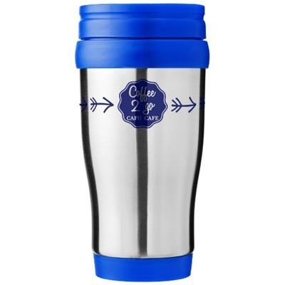 Picture of SANIBEL 400 ML THERMAL INSULATED MUG in Silver-blue