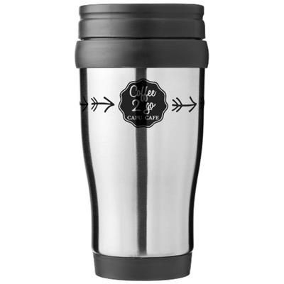 Picture of SANIBEL 400 ML THERMAL INSULATED MUG in Silver-grey