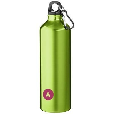 Picture of PACIFIC 770 ML SPORTS BOTTLE with Carabiner in Green