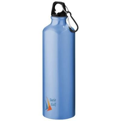 Picture of PACIFIC 770 ML SPORTS BOTTLE with Carabiner in Light Blue