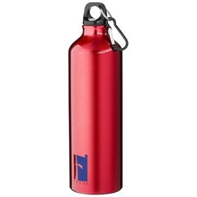 Picture of PACIFIC 770 ML SPORTS BOTTLE with Carabiner in Red