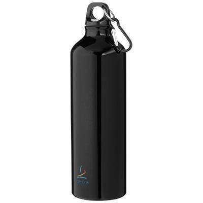 Picture of PACIFIC 770 ML SPORTS BOTTLE with Carabiner in Black Solid