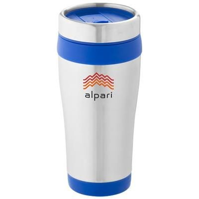 Picture of ELWOOD 410 ML THERMAL INSULATED TUMBLER in Silver-blue