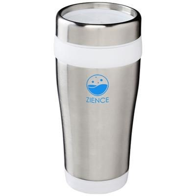 Picture of ELWOOD 410 ML THERMAL INSULATED TUMBLER in Silver-white Solid