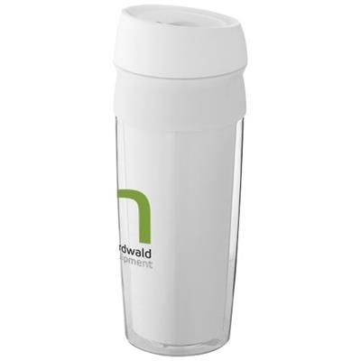 Picture of CEBU THERMAL INSULATED TUMBLER in White Solid