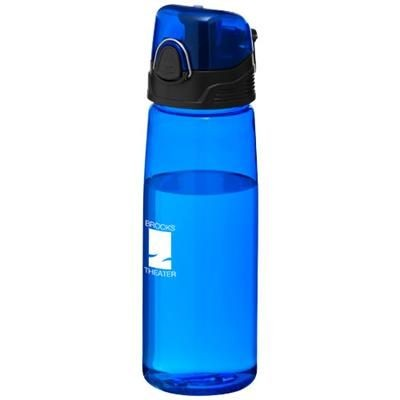 Picture of CAPRI 700 ML SPORTS BOTTLE in Clear Transparent Blue