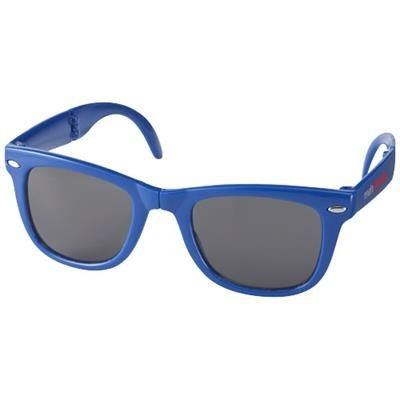 Picture of SUN RAY FOLDING SUNGLASSES in Royal Blue