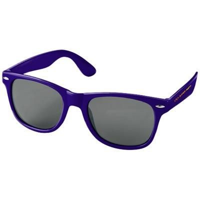 Picture of SUN RAY SUNGLASSES in Purple