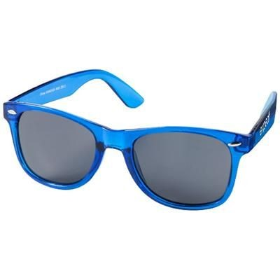 Picture of SUN RAY SUNGLASSES with Crystal Frame in Blue