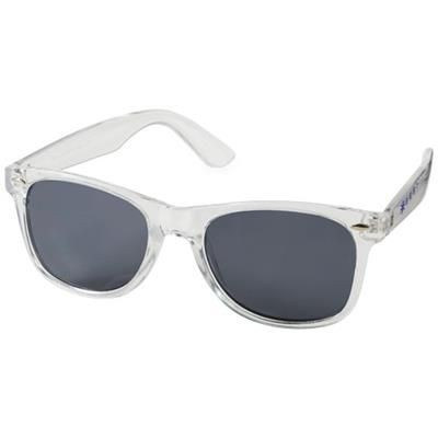 Picture of SUN RAY SUNGLASSES CRYSTAL FRAME in Transparent Clear Transparent