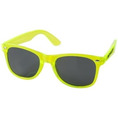 Picture of SUN RAY SUNGLASSES with Crystal Frame in Lime