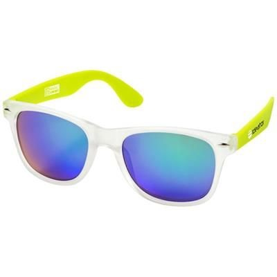 Picture of CALIFORNIA EXCLUSIVELY DESIGNED SUNGLASSES in Lime-transparent