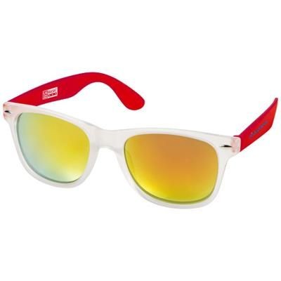 Picture of CALIFORNIA EXCLUSIVELY DESIGNED SUNGLASSES in Red-transparent