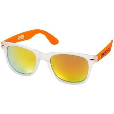 Picture of CALIFORNIA EXCLUSIVELY DESIGNED SUNGLASSES in Orange-transparent