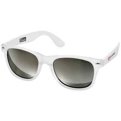 Picture of CALIFORNIA SUNGLASSES in White Solid-transparent Clear Transparent