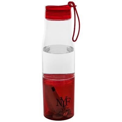 Picture of HIDE AWAY BOTTLE in Transparent-red