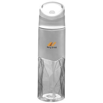 Picture of RADIUS 830 ML TRITAN GEOMETRIC SPORTS BOTTLE in Transparent Clear Transparent