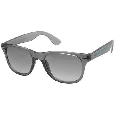 Picture of SUN RAY SUNGLASSES CRYSTAL LENS in Black Solid