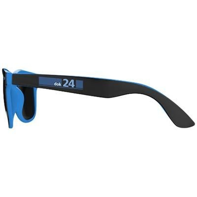 Picture of BAJA SUNGLASSES in Black Solid-blue