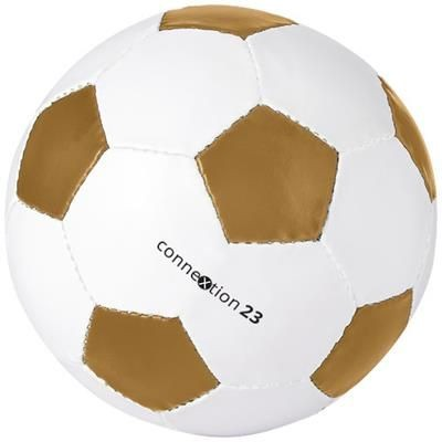 Picture of CURVE SIZE 5 FOOTBALL in Gold