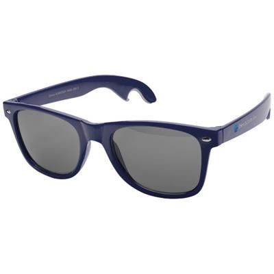 Picture of SUN RAY SUNGLASSES with Bottle Opener in Navy