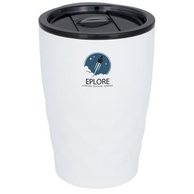 Picture of GEO 350 ML COPPER VACUUM THERMAL INSULATED TUMBLER in White Solid