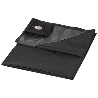 Picture of STOW-AND-GO WATER-RESISTANT PICNIC BLANKET in Black Solid