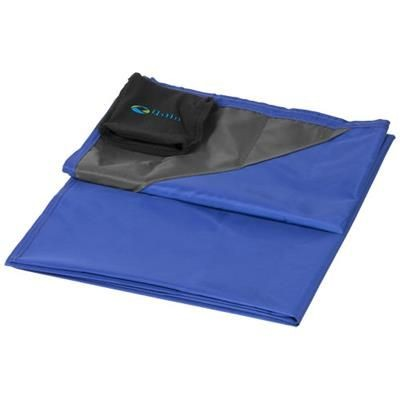 Picture of STOW-AND-GO WATER-RESISTANT PICNIC BLANKET in Royal Blue
