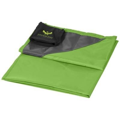 Picture of STOW-AND-GO WATER-RESISTANT PICNIC BLANKET in Lime