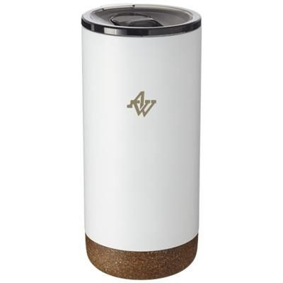 Picture of VALHALLA 500 ML COPPER VACUUM THERMAL INSULATED TUMBLER in White Solid