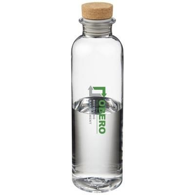 Picture of SPARROW 650 ML TRITAN SPORTS BOTTLE with Cork Lid in Transparent Clear Transparent