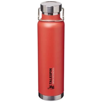 Picture of THOR 650 ML COPPER VACUUM THERMAL INSULATED SPORTS BOTTLE in Red