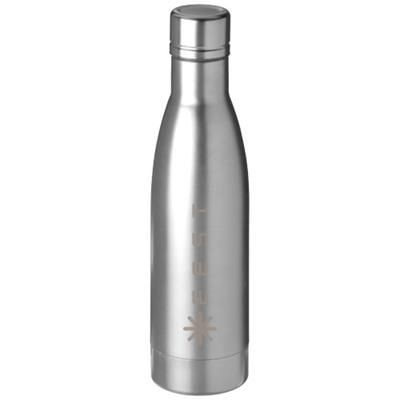 Picture of VASA 500 ML COPPER VACUUM THERMAL INSULATED SPORTS BOTTLE in Silver
