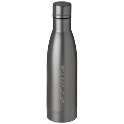Picture of VASA 500 ML COPPER VACUUM THERMAL INSULATED SPORTS BOTTLE in Titanium