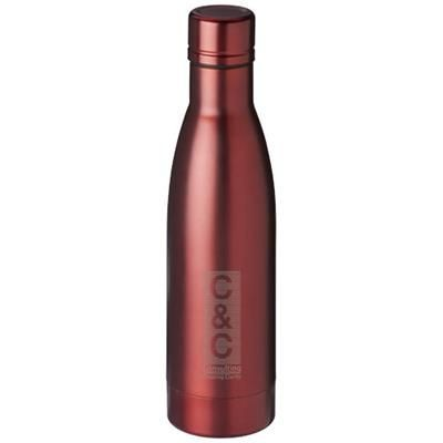 Picture of VASA 500 ML COPPER VACUUM THERMAL INSULATED SPORTS BOTTLE in Red