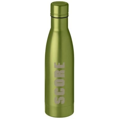 Picture of VASA 500 ML COPPER VACUUM THERMAL INSULATED SPORTS BOTTLE in Green