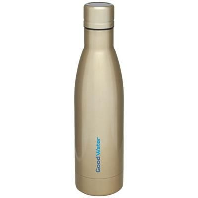 Picture of VASA 500 ML COPPER VACUUM THERMAL INSULATED SPORTS BOTTLE in Gold